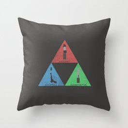 The Legend of Skywalker Throw Pillow