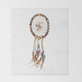 Spiritual Dreamcatcher Throw Blanket
