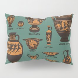 Greek Pottery Pillow Sham