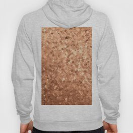 Geometrical elegant abstract faux gold ombre Hoody