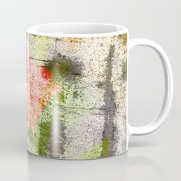 Structured Tulips Coffee Mug
