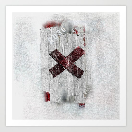 Cross my heart and hope .... Art Print