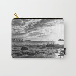 Magnolia Pier Black and White Carry-All Pouch