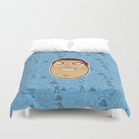 buzz lightyear Duvet Covers featuring Buzz Lightyear - Toy Story by Kuki
