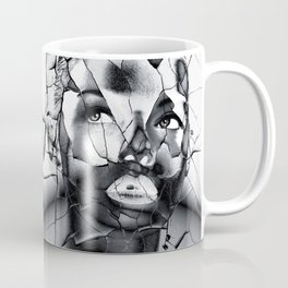 WOMAN IN BLACK WHITE Coffee Mug