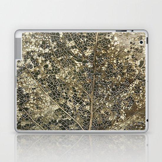 Old gold Laptop & iPad Skin