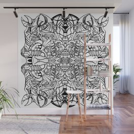 Abstract Pattern Wall Mural
