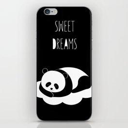 Sweet dreams with panda iPhone Skin