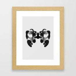 Form Ink Blot No. 20 Framed Art Print