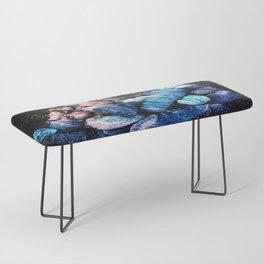 Aqua Gemstones Bench