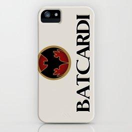 Batcardi iPhone Case