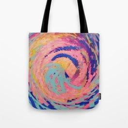 Rosie Angular Swirls Tote Bag