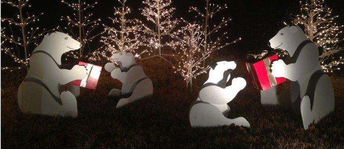 polar bear christmas coffee mug by scotthervieux society6