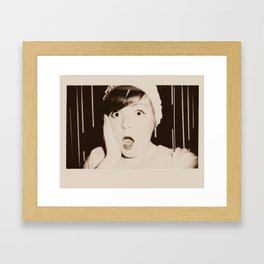 Oh No! Framed Art Print