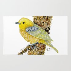 Yellow Warbler Tilly Rug
