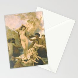 Birth of Venus by William Bouguereau Stationery Cards