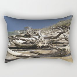 Driftwood Beach Rectangular Pillow
