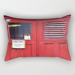 Fire Door Rectangular Pillow