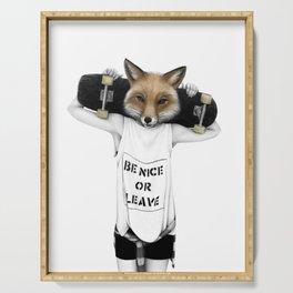 Fox'n'roll Serving Tray