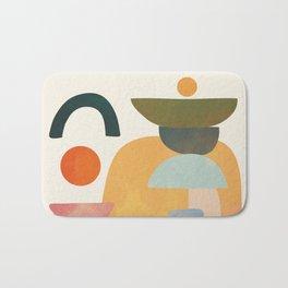 Modern Abstract Art 70 Bath Mat