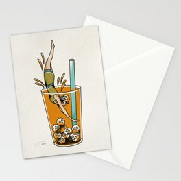 Dive Right In Stationery Cards