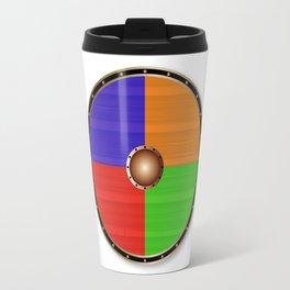 Round Viking Shield Travel Mug