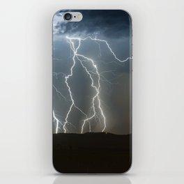 Lightning Cluster iPhone Skin