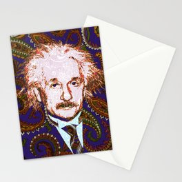 psychedelic quantum physics genius E = mc2 Stationery Cards