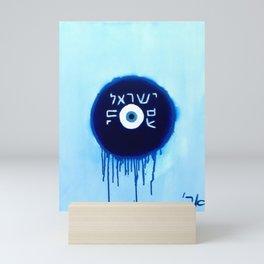 Nazar Ayin Blue Shift (We Lived, B****) Mini Art Print