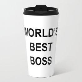 World's Best Boss - the Office Travel Mug