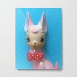 deer with bowtie Metal Print