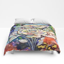 Flowers for You - by Toni Wright Comforters