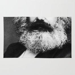 Karl Marx Portrait Rug