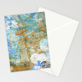 Siren and the Ship Stationery Cards