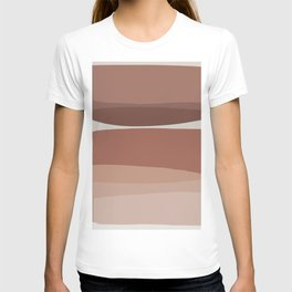 Modern Blush, Pink Painting, Pink Ombre T-shirt