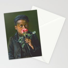 Vintage African American Art Stationery Cards