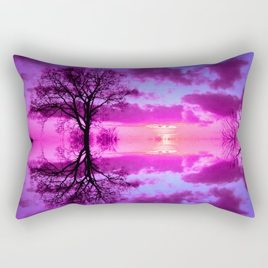 before midnight Rectangular Pillow