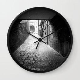 Side street Edinburgh Wall Clock