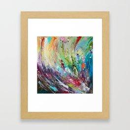 High grass Framed Art Print