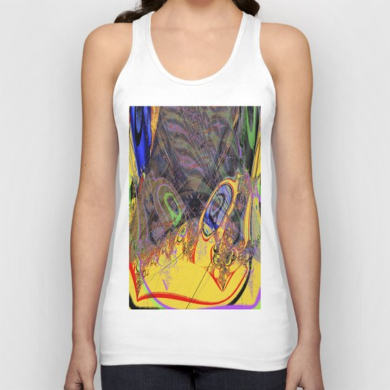 totally fern III Unisex Tank Top