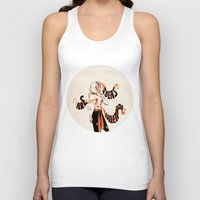 enjolras Tank Tops featuring Ideas are bulletproof by MENELLAOS