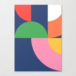 Abstract Geometric 16 Canvas Print