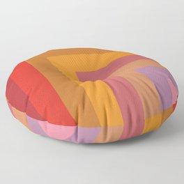 Door to Color Floor Pillow