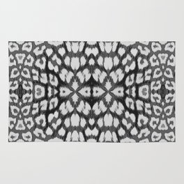 Leopard Print - Grey Rug