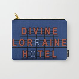 Divine Lorraine Hotel Carry-All Pouch