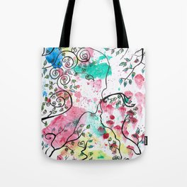 HAPPINESS by mrs Wilkes Tote Bag