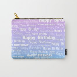 Happy Birthday! 8 Carry-All Pouch