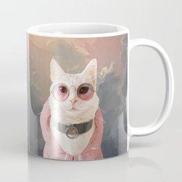 Fashion Portrait Cat Coffee Mug