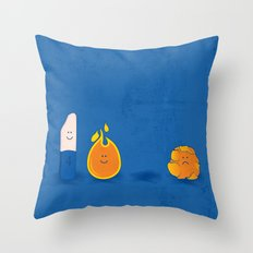 Four is the magic number! Throw Pillow