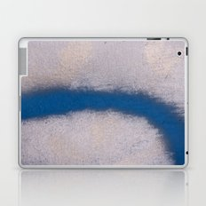 Blue Curve Laptop & iPad Skin